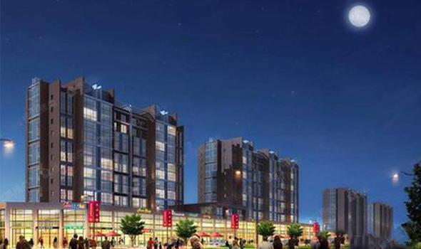 新东城新乐汇商业区