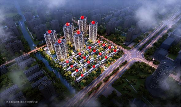 嘉善新浦西孔雀城·云樾东方苑的楼盘信息
