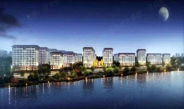 建业河畔洋房